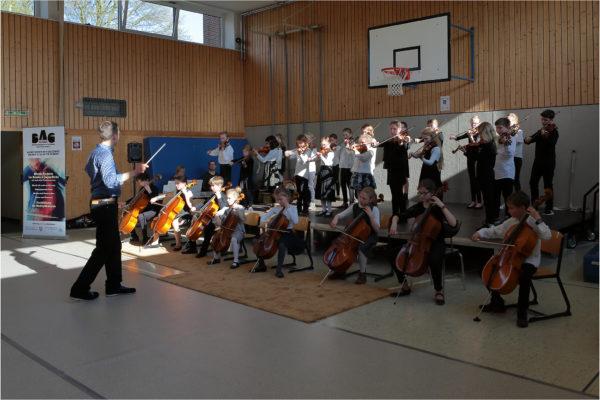 Abschluss-Konzert des Streicher-Wochenendes