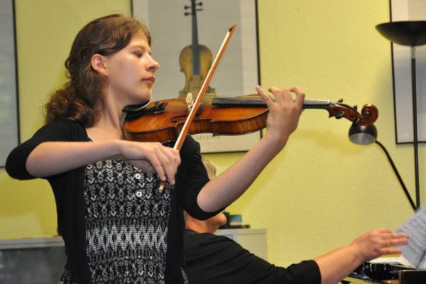 Abschluss-Konzert der 1. Halderner Streicher-Akademie