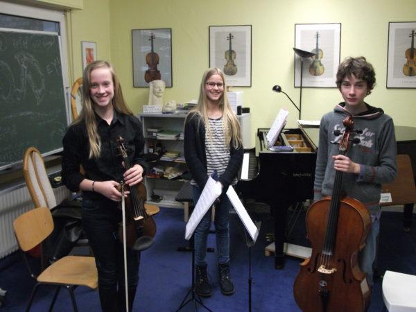 Musizierstunde mit Kammermusik